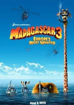 Madagaskar 3: Avrupa'nın En Çok Arananları - Madagascar 3: Europe's Most Wanted