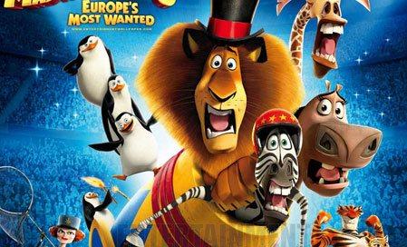 Madagaskar 3: Avrupa'nın En Çok Arananları - Madagascar 3: Europe's Most Wanted izle
