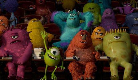 Sevimli Canavarlar Üniversitesi - Monsters University izle