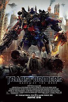 Transformers 3 Ayın Karanlık Yüzü