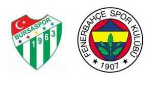Fenerbahçe - Bursaspor - Lig TV Canlı İzle