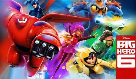 6 Süper Kahraman - Big Hero 6 izle