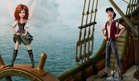 Tinker Bell ve Korsan Peri - The Pirate Fairy izle
