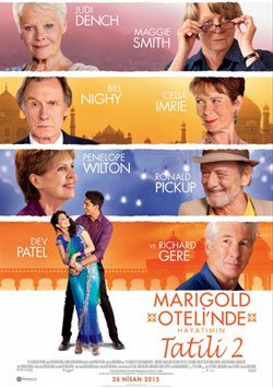 Marigold Otelinde Hayatımın Tatili - The Second Best Exotic  Marigold Hotel