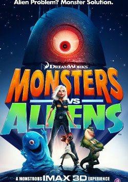 digiturk 2015 filmleri, Canavarlar Yaratıklara Karşı - Monsters Vs Aliens