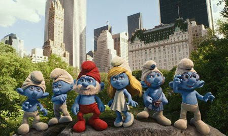 The Smurfs 3D izle