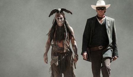 Maskeli Süvari - The Lone Ranger izle