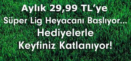 beIN Sports(Lig TV) 29,99TL Kampanyası
