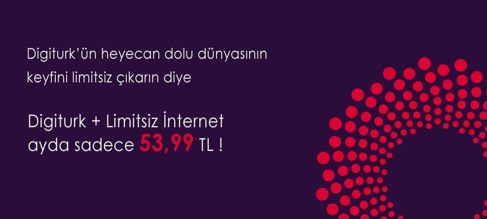 Digiturk Türk Telekom İnternet Kampanyası