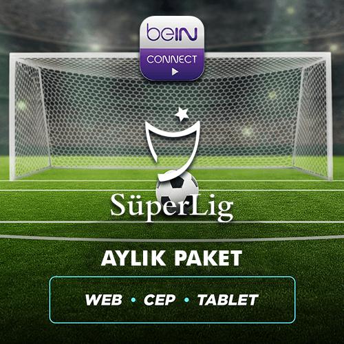 Süper Lig 1 Aylık Paket (Web, Cep, Tablet)