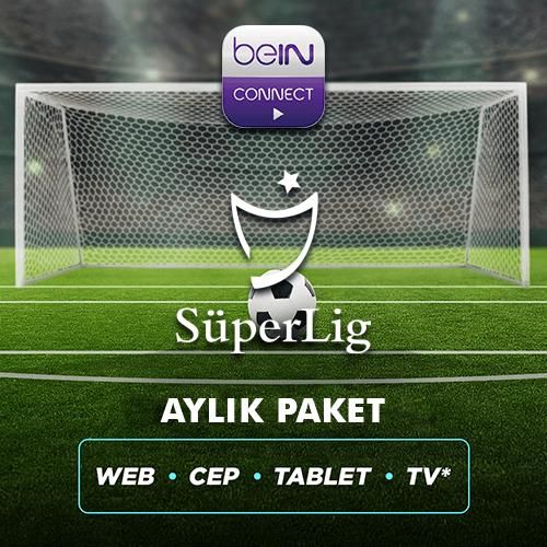 Süper Lig 1 Aylık Paket (Web, Cep, Tablet, Smart TV)