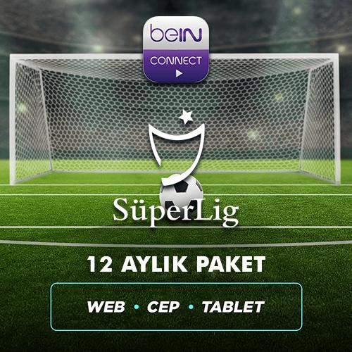 Süper Lig 12 Aylık Paket (Web, Cep, Tablet)