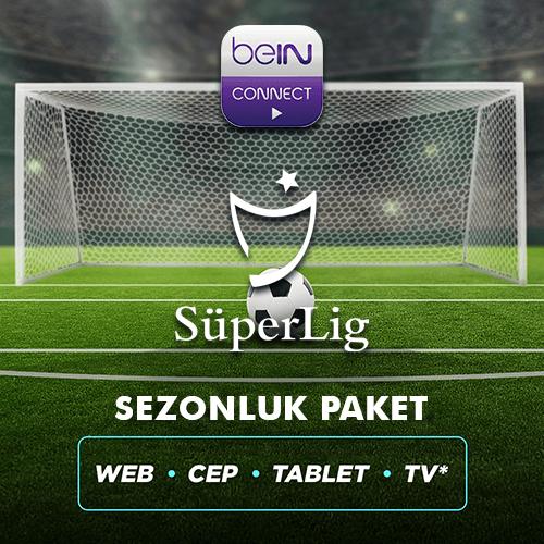 Süper Lig Sezonluk Paket (Web, Cep, Tablet, Smart TV)
