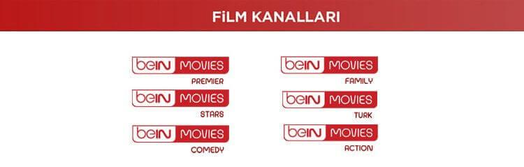 Filmin Yıldızı Aile Paketi Kanalları