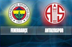 Fenerbahçe MP Antalyaspor - Lig TV Canlı Maç İzle