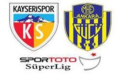 MKE Ankaragücü Kayserispor - Lig TV Canlı Maç İzle