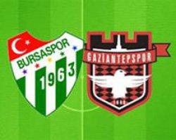 Bursaspor Gaziantepspor - Lig TV Canlı Maç İzle