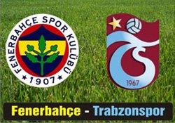 Trabzonspor Fenerbahçe - Lig TV Canlı Maç İzle