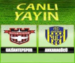Gaziantepspor MKE Ankaragücü - Lig TV Canlı Maç İzle
