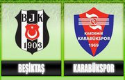 K.Karabükspor Beşiktaş - Lig TV Canlı Maç İzle
