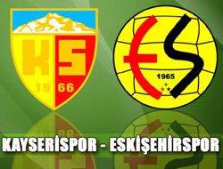 Kayserispor Eskişehirspor - Lig TV Canlı Maç İzle