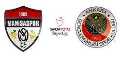 Gençlerbirliği Manisaspor - Lig TV Canlı Maç İzle