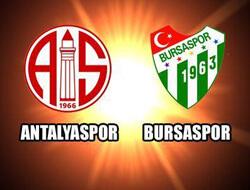 MP Antalyaspor Bursaspor - Lig TV Canlı Maç İzle